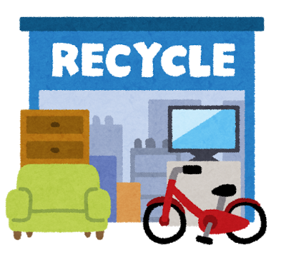 洗濯機を売る為のリサイクルショップ