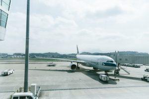 海外への引越しで利用する飛行機