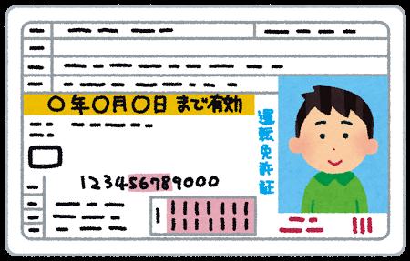 自動車免許