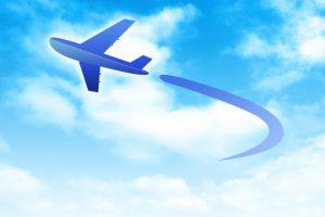 海外へ引越しする為の飛行機