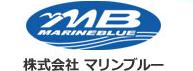 マリンブルーのロゴデザイン